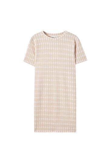 Synthetic wool dress