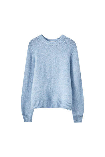 Regular fit knit sweater