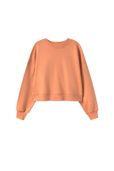 Colourful round neck sweatshirt