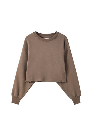 Rahat crop fit sweatshirt