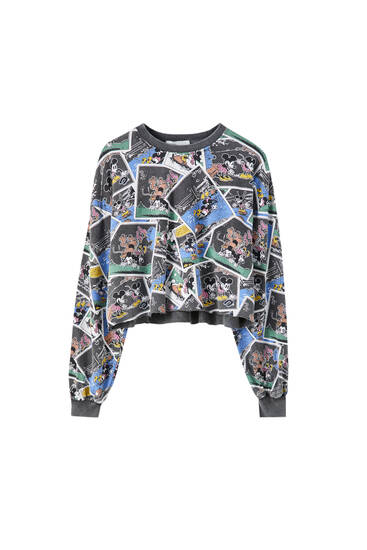 Sudadera estampado comic