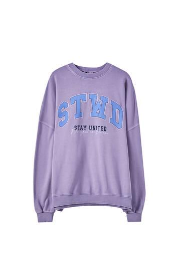 Lilac STWD sweatshirt