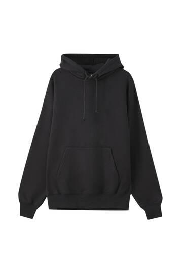 Basic, oversize sweatshirt