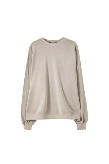 Oversize-Sweatshirt im Washed-Look