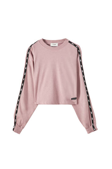 STWD sweatshirt with side stripes