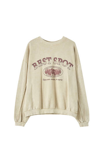 """Best Spot"" sweatshirt"