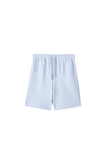 Basic-Shorts mit Kordelzug
