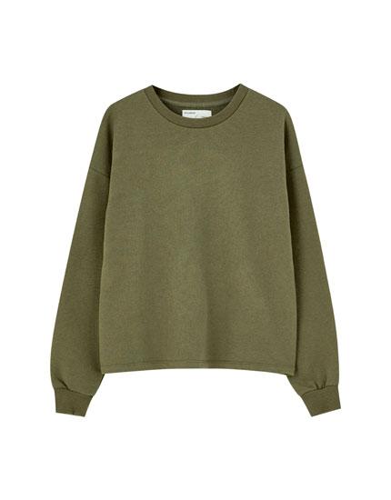 Basic-Sweatshirt mit Raglanärmeln