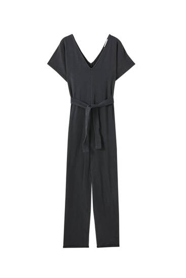 Long faded jumpsuit
