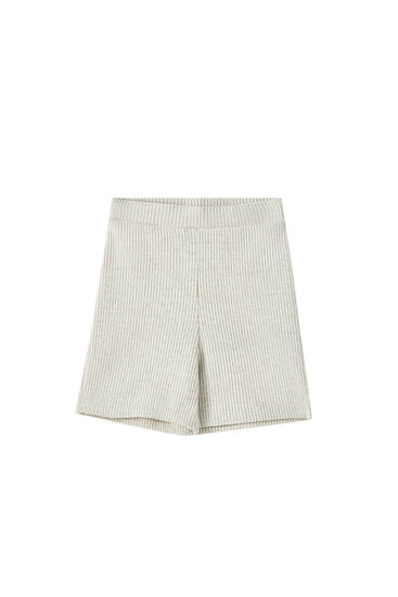 Cutwork shorts