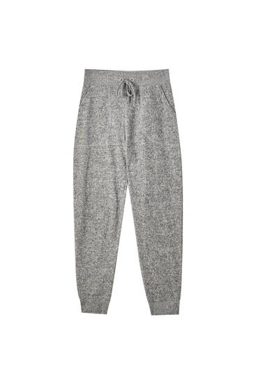 Jogger trousers with cord