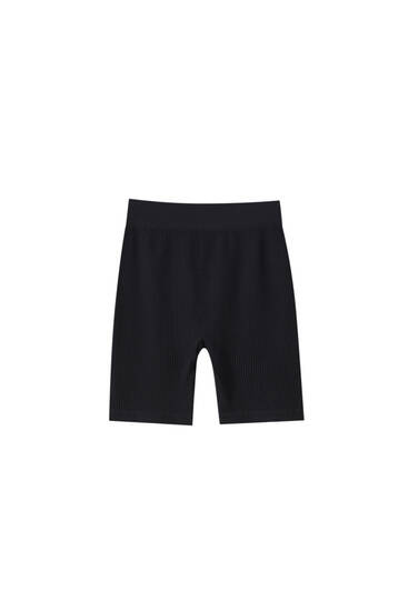 Seamless cycling shorts