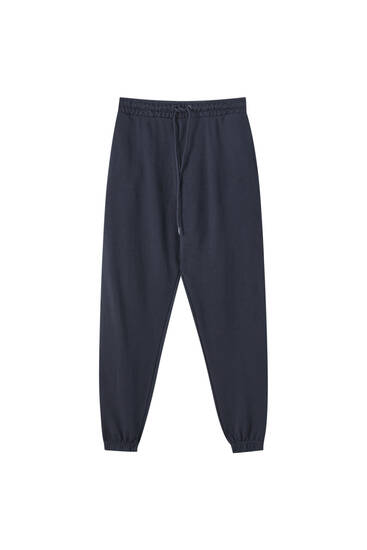 Elastik paçalı basic jogging fit pantolon