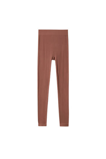 Legging seamless chocolate