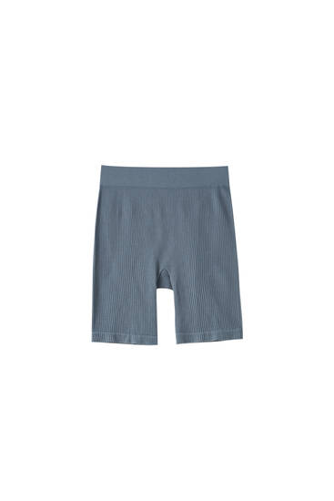 Seamless basic cycling shorts