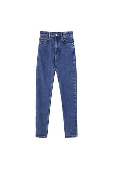Jeans skinny fit hög midja