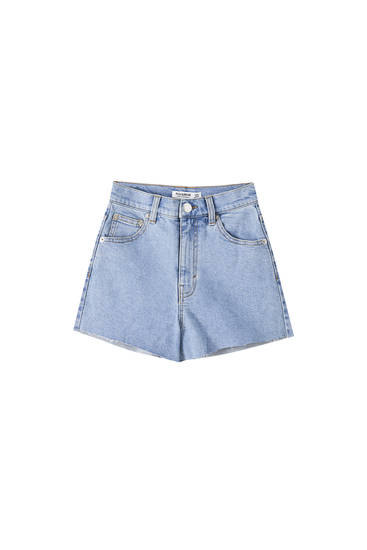 Shorts comfort fit tiro alto