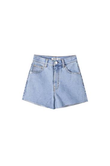 High waist comfort fit shorts