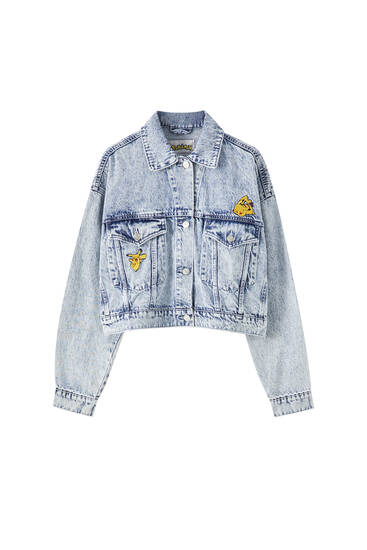 Denim Pokémon jacket