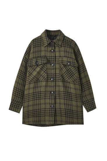 Check overshirt