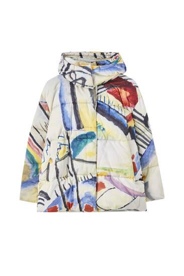 """Wassily Kandinsky """"Cossacks"""" vatteret jakke"""