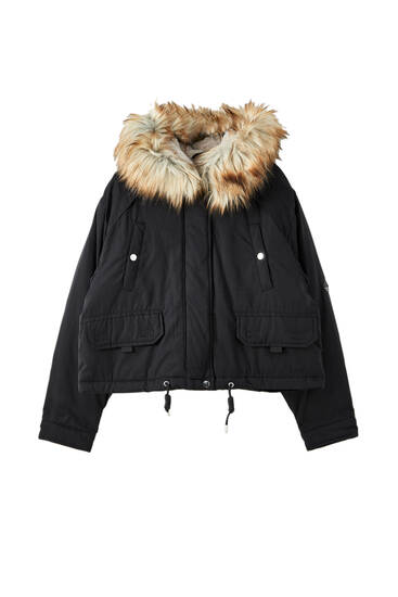 Basic short parka