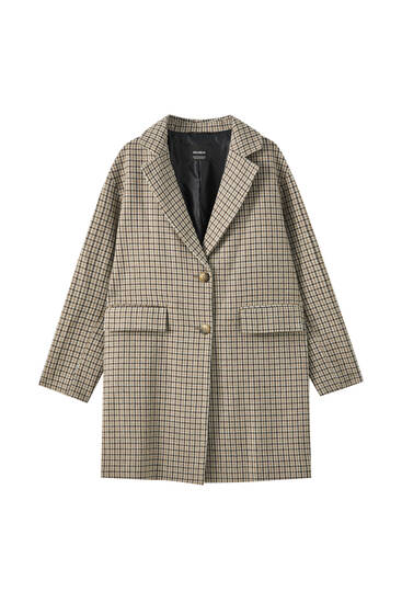 Basic two-button coat