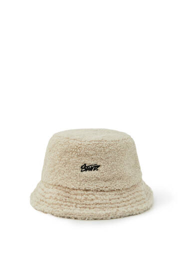 Faux shearling STWD bucket hat