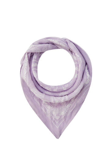 Pastel colour classic bandana