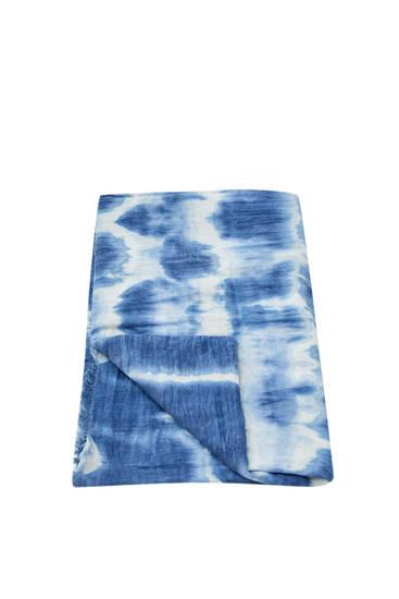 Foulard tie-dye