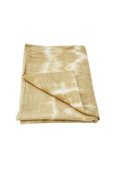 Tie-dye pareo scarf