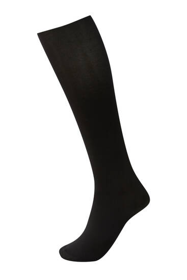 Black 60-denier tights