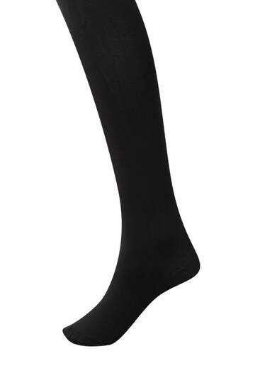 Black 90-denier tights