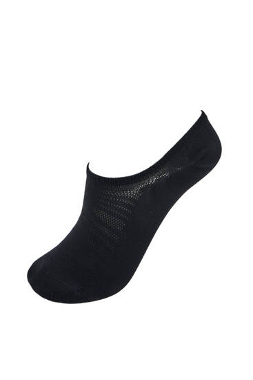Pack of mesh no-show socks