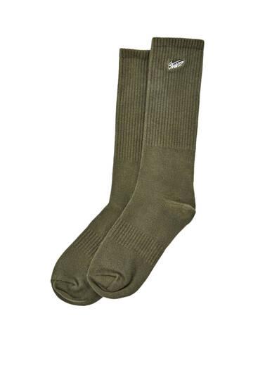 STWD logo sports socks