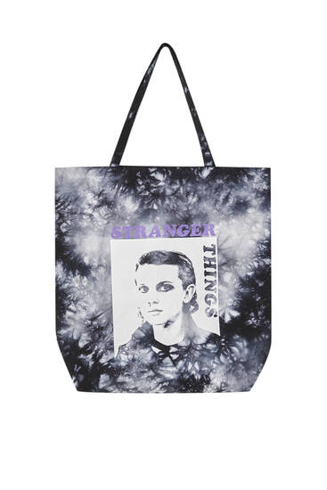 Stranger Things tie-dye bag