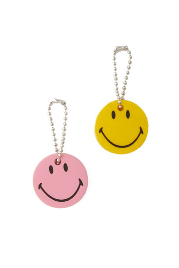 Smiley key case