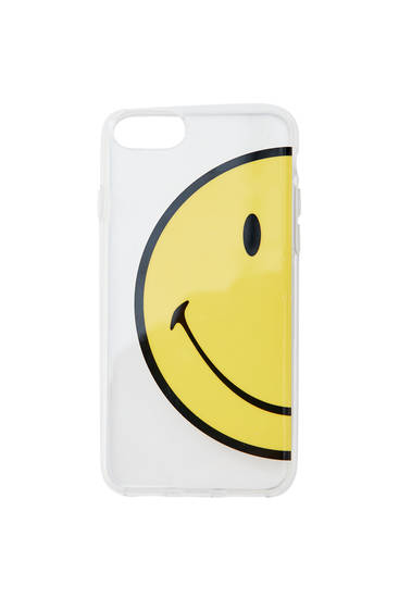 Smiley smartphone case