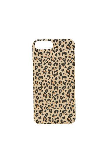 Leopard print smartphone case