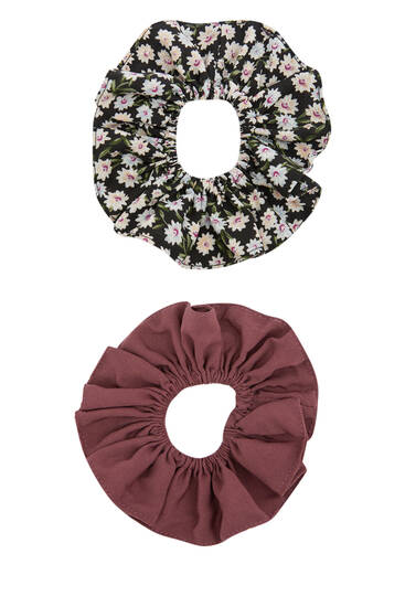 Pack of maxi scrunchies