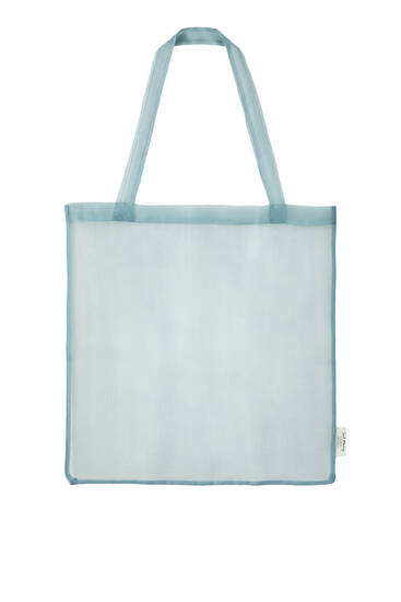 Bolso shopper organza