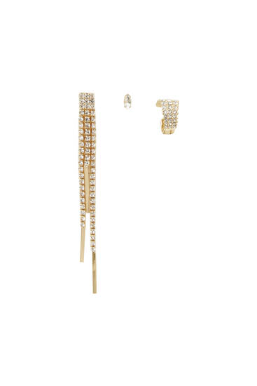 Pack of ear cuff earrings