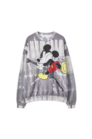 Mickey Mouse tie-dye sweatshirt