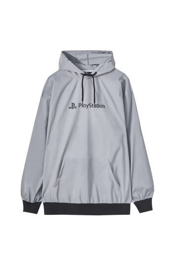 Reflective PlayStation hoodie