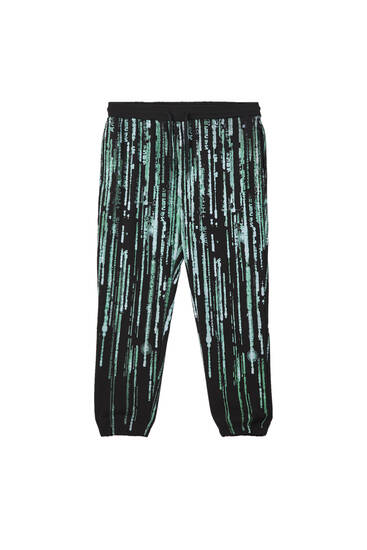 The Matrix jogging trousers