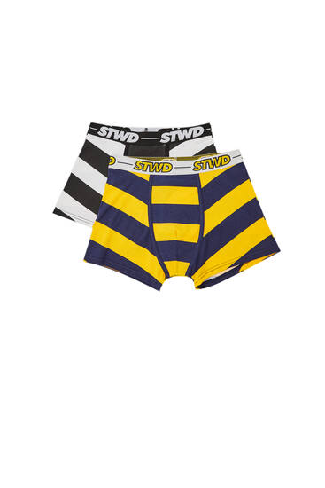 2-pack of rugby boxers