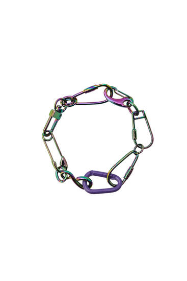 Chain link bracelet with multi-fastening