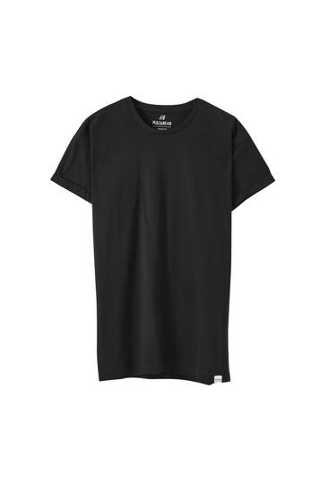 Basic muscle fit T-shirt