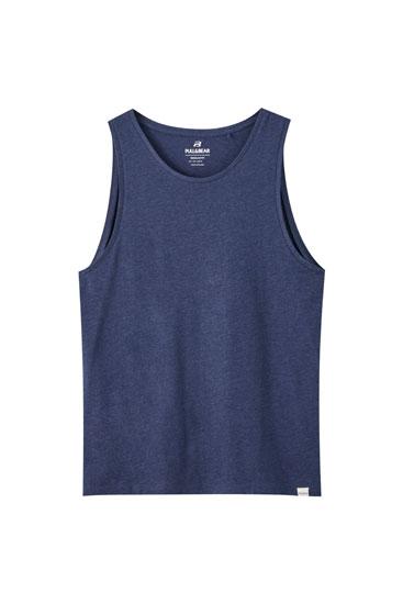 Camiseta tirantes cuello redondo