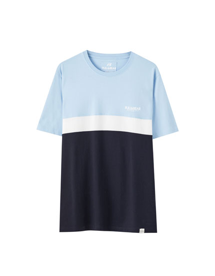 Basic colour block T-shirt